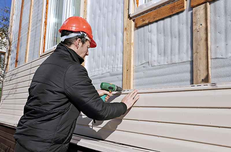 installing siding in southern maryland