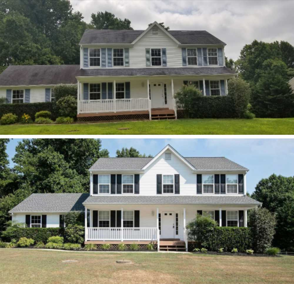 Roof installation in Maryland