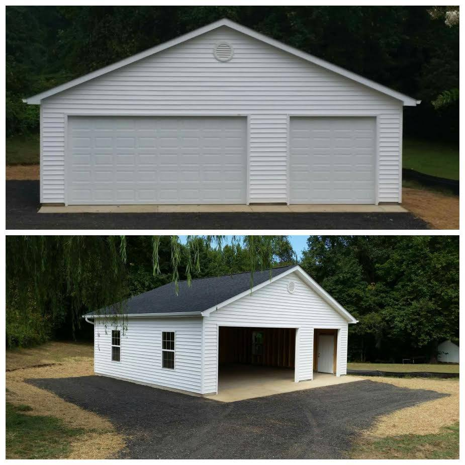 free standing garage by park place in maryland