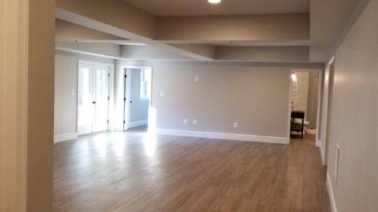 new floor installation