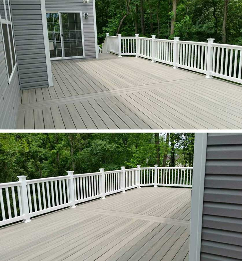 Finished deck replacement