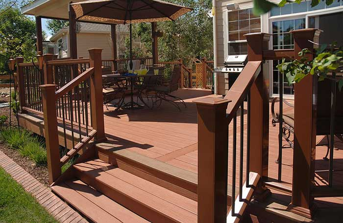 New maintenance free deck