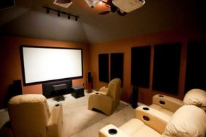 basement finishing with home theater