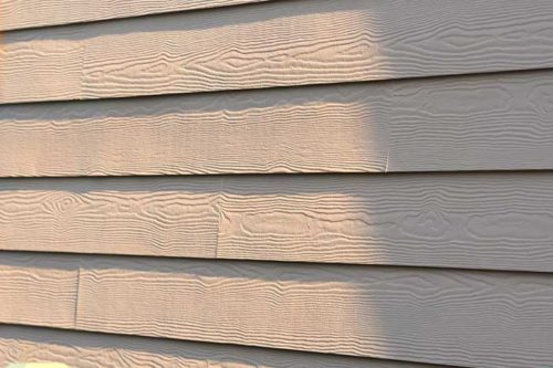 Fiber cement siding replacement