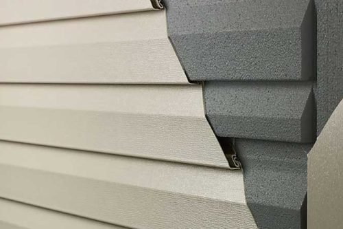 insulated siding replacement